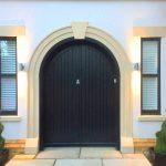 Hardwood Curved Top Front Door