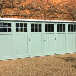 Hardwood Painted Bi-Folding Doors