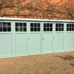 Hardwood Painted Bi-Folding Doors