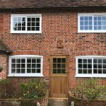 Heritage double glazed windows with georgian bar detail