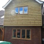 Oak house windows