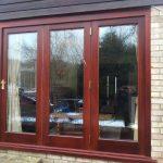 Rosewood bi-fold doors
