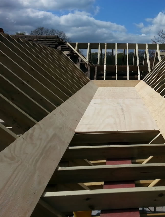 Timber roof for new build