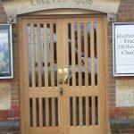 Timber church doors