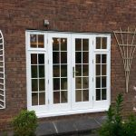 Timber french doors external photo