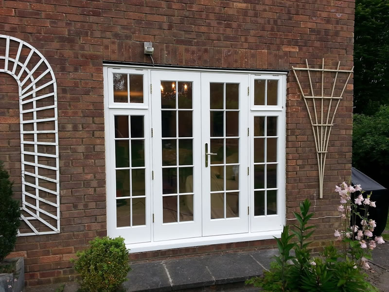 Timber doors in high wycombe kirkman joinery for Timber french doors