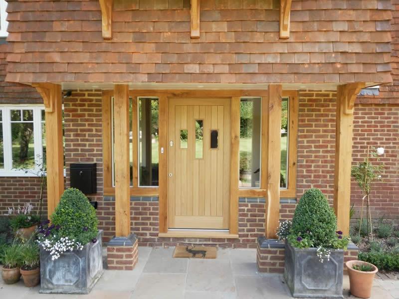 Timber doors in high wycombe kirkman joinery oak entrance door planetlyrics Gallery