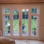 Timber french doors internal photo