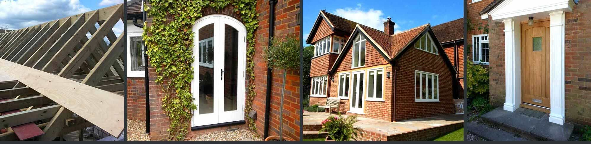 Timber roof, windows and doors
