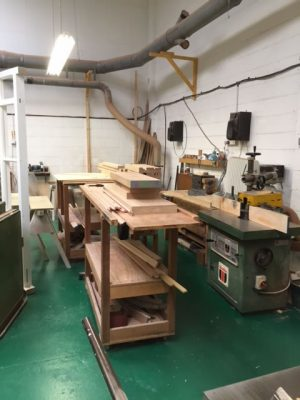Our Buckinghamshire joinery workshop