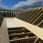 Bespoke custom made timber roof