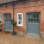 Timber stable doors