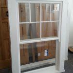 Vertical sliding sash window - isolated product shot