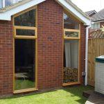 Timber windows with heritage slim line double glazing