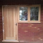Farthings external oak door