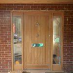Farthings entrance timber door