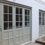 Timber bi-folding doors