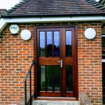 Hardwood Stained Door